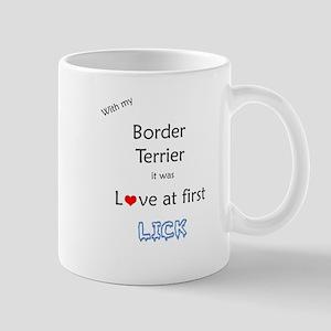 Border Terrier Lick Mug