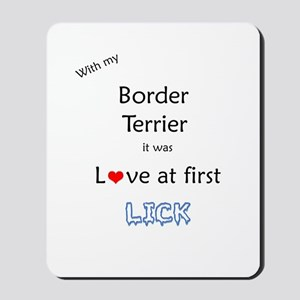 Border Terrier Lick Mousepad