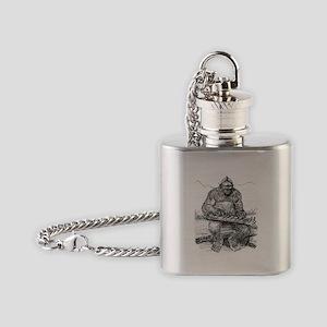 BFplaysdulcimer Flask Necklace