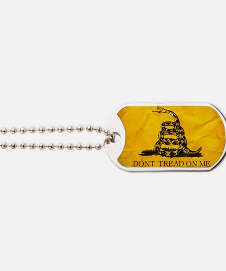 Don't Tread On Me Dog Tags