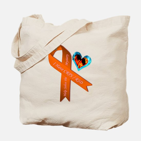 I Have CRPS RSD Solve the Mystery Ribbon  Tote Bag