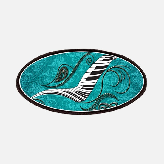 Music, piano with clef Patch