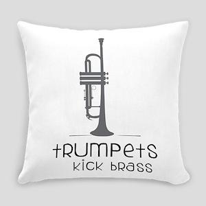 Trumpets Kick Brass Everyday Pillow
