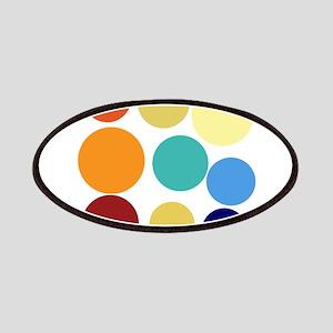 Cute Bright Polka Dots Fun Patch