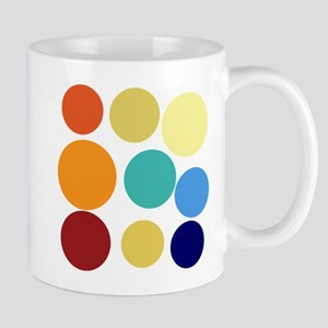 Cute Bright Polka Dots Fun Mug