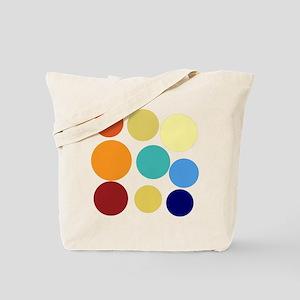 Cute Bright Polka Dots Fun Tote Bag