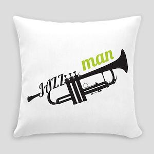 Jazz Man Everyday Pillow