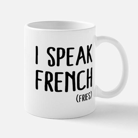 I speak french (fries) Mugs