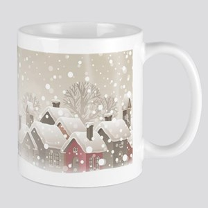 Winter Village Mug