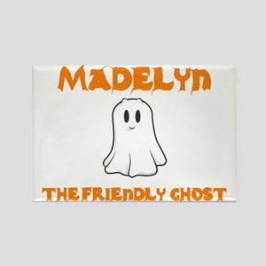 Madelyn the Friendly Ghost Rectangle Magnet (10 pa