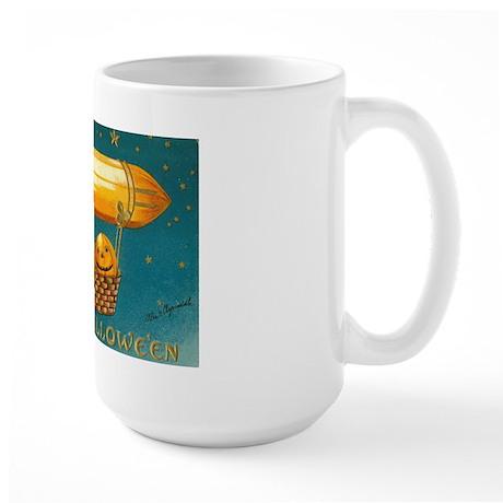 Flying Pumpkins Large Mug