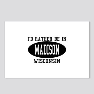 I'd Rather Be in Madison, Wis Postcards (Package o