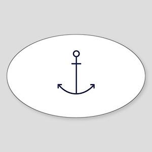 Blue Anchor Sticker