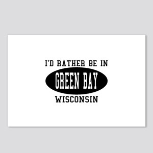 I'd Rather Be in green Bay, W Postcards (Package o