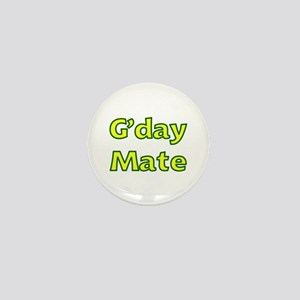 G'day Mate Mini Button