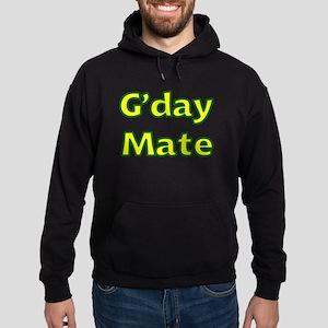 G'day Mate Hoodie (dark)