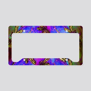 Dragonfly Hippy Flit License Plate Holder