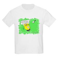 Funny Billiard Mouse Spot Shot Kids Light T-Shirt