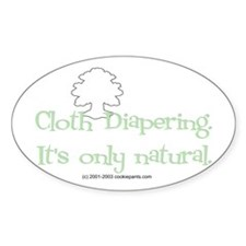 CD -- Only Natural Oval Sticker