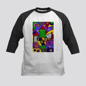 Pickleball Abstract Baseball Jersey
