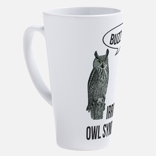 Unique Owl 17 oz Latte Mug