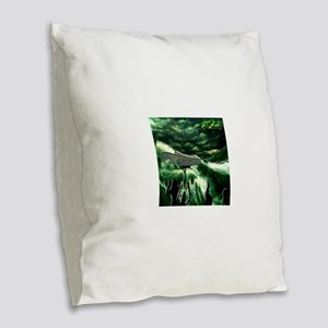 NOAHS ARK Burlap Throw Pillow