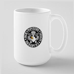 Band of Brothers Crest Large Mug