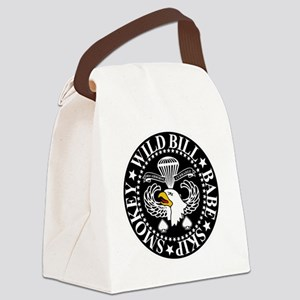 Band of Brothers Crest Canvas Lunch Bag