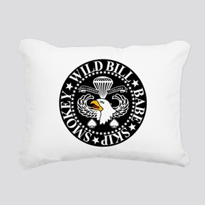 Band of Brothers Crest Rectangular Canvas Pillow