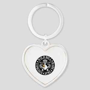Band of Brothers Crest Heart Keychain