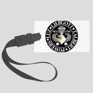 Band of Brothers Crest Large Luggage Tag