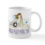 Girls Play Pool Too 8 Ball Mug