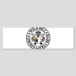 Band of Brothers Crest Bumper Sticker