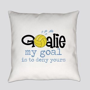 My Goal Is To Deny Yours Everyday Pillow