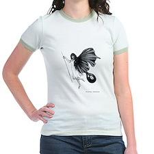 8 Ball Pool Angel Jr. Ringer T-Shirt