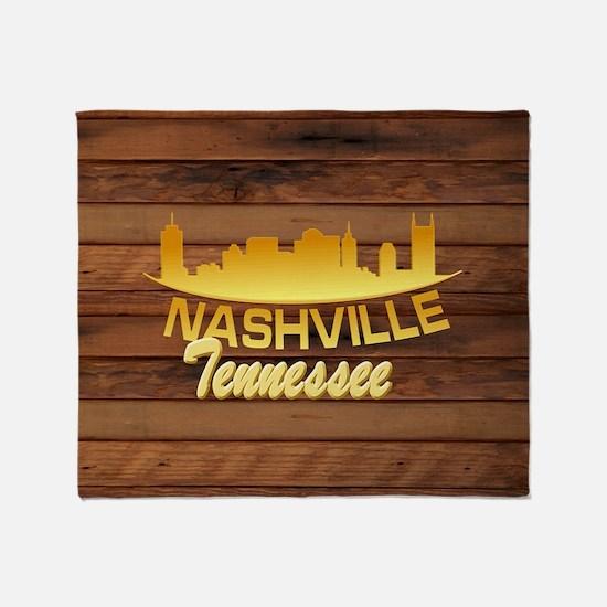 Nashville-LTS-02 Throw Blanket
