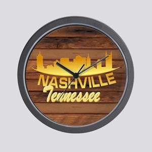 Nashville-LTS-02 Wall Clock