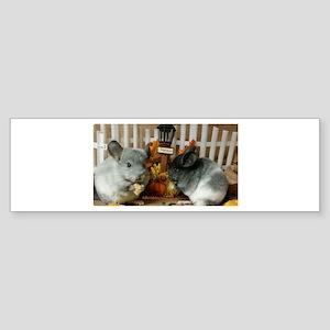 White Ebonies Bumper Sticker