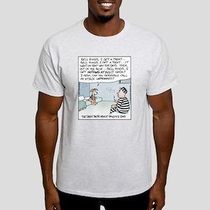 Pavlov's Dog in Jail Light T-Shirt