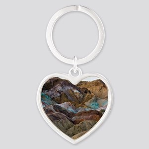 ARTISTS PALETTE 2 Heart Keychain