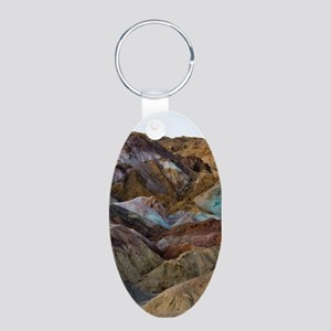 ARTISTS PALETTE 2 Aluminum Oval Keychain