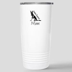 German Shepherd Mom Stainless Steel Travel Mug