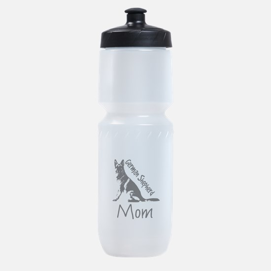 German Shepherd Mom Sports Bottle