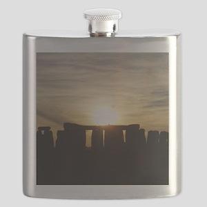 SUNSET AT STONEHENGE Flask