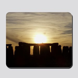 SUNSET AT STONEHENGE Mousepad