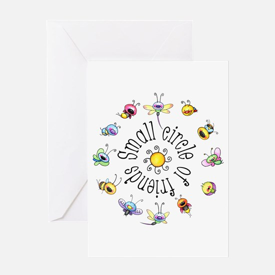 Small Circle Of Friends Greeting Card
