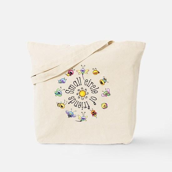 Small Circle Of Friends Tote Bag