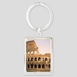 ROME COLOSSEUM Portrait Keychain