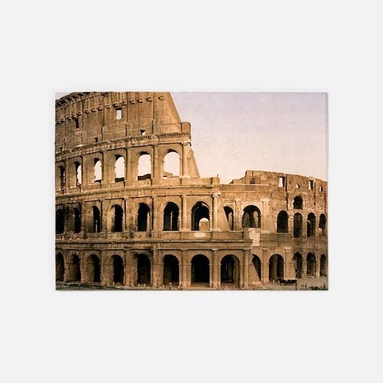 ROME COLOSSEUM 5'x7'Area Rug