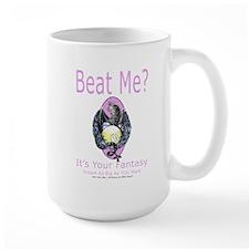Beat Me Dragon Queen Large Mug